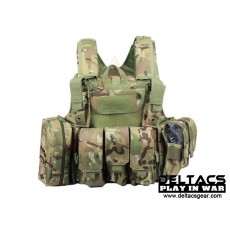 Deltacs CIRAS Type Tactical Vest - Multicam